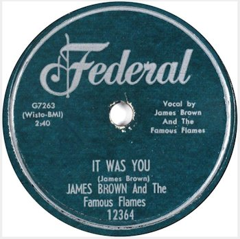 jame brown oct 1959